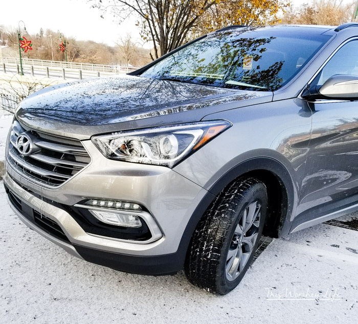 Information on a Hyundai Santa Fe 2018