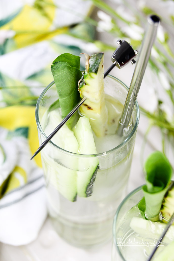 How to make Sorrel Tonic Mojito Infused Water