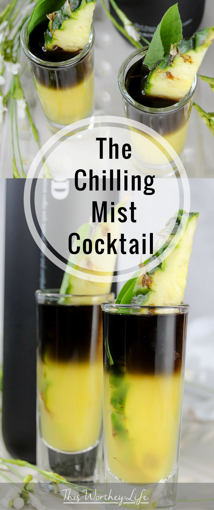 Marvel's Black Panther arrives in theaters February 16th. We're celebrating with a series of Black Panther Themed cocktails. The Chilling Mist Cocktail is made with black vodka, Sorrel Infused Simple Syrup, pineapple juice, and a pineapple garnish. Grab the recipe below and great ready to celebrate all things, Black Panther!