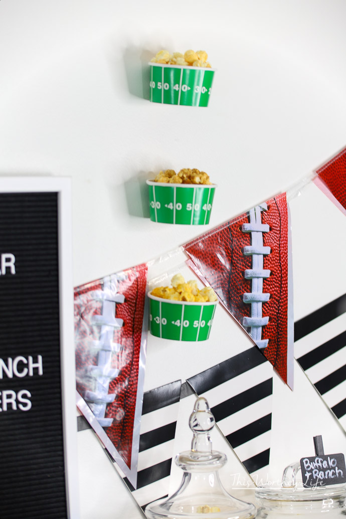 Tips on creating a popcorn bar