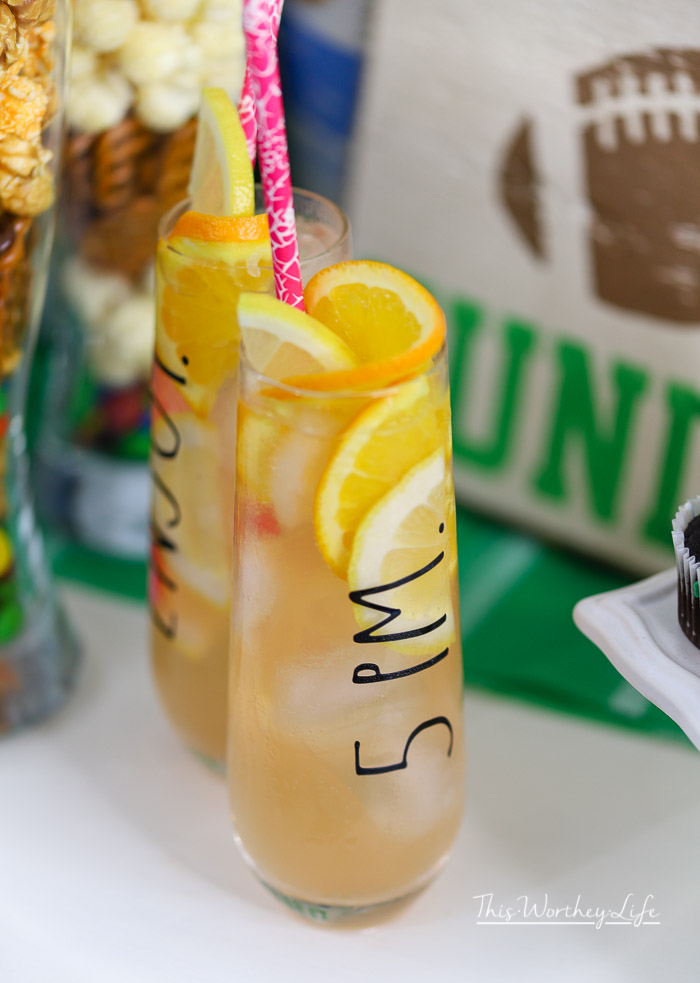 Game Day Mocktail- Sis Boom Bah Soda