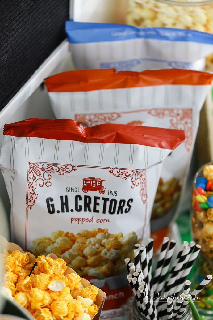 The Best Popcorn Bar