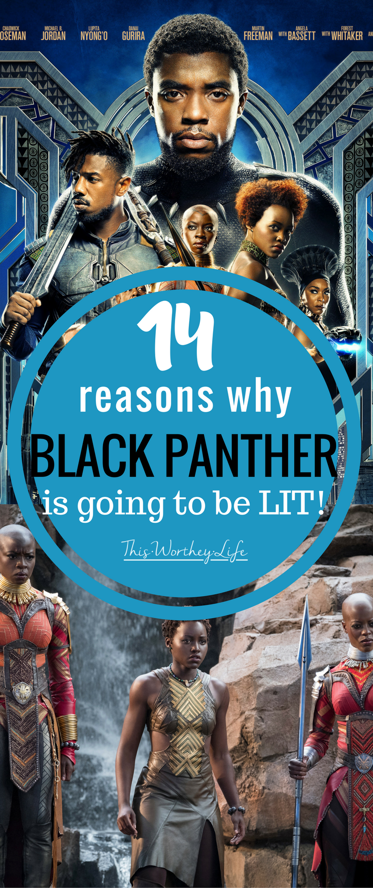 Black Panther drops in theaters next month. With all the news and excitement about Marvel's newest film, I'm sharing my feelings and thoughts about why Black Panther is going to be LIT, and I haven't even seen the movie!
