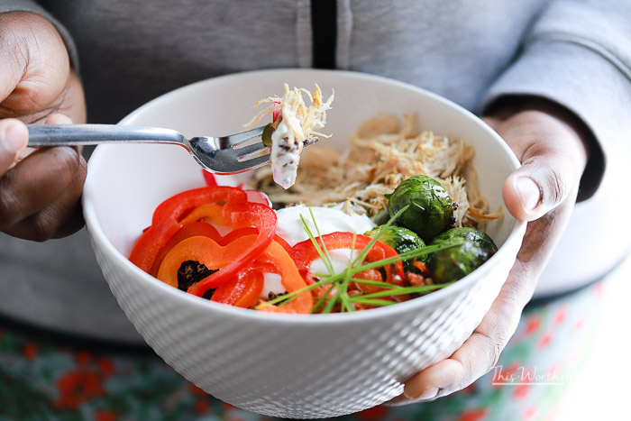 How to make a savory Yogurt Bowl
