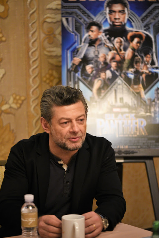 How Andy Serkis ended up in Marvel's Black Panther
