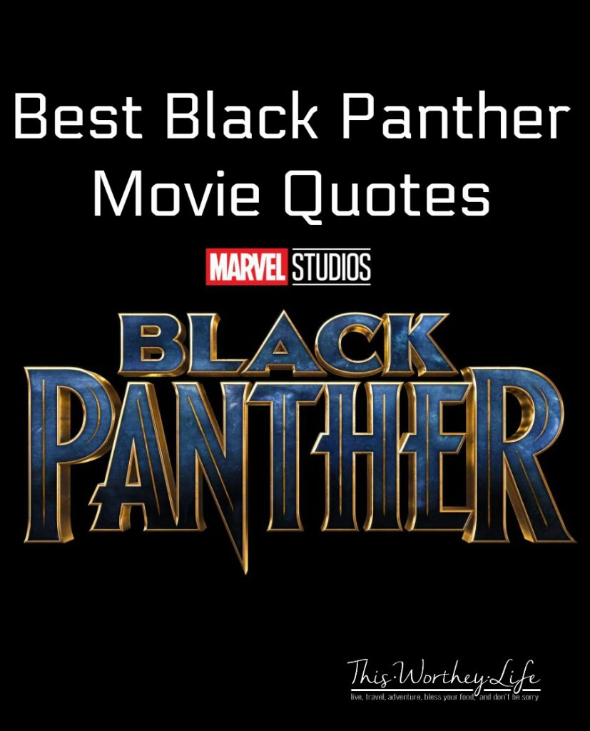 Find the best, funny and powerful quotes from Marvel's Black Panther movie. Read on for the Black Panther Quotes from the movie.