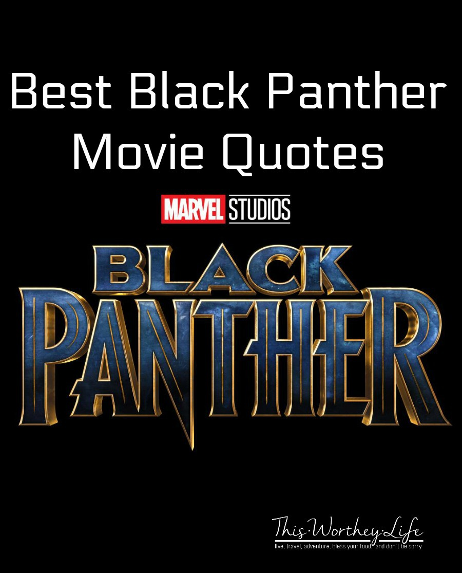 Black Panther Quotes from Marvel\'s Black Panther Movie ...