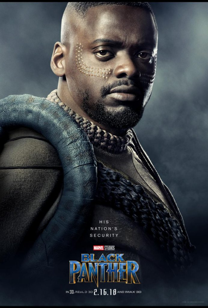 BlackPanther Cast Daniel Kaluuya