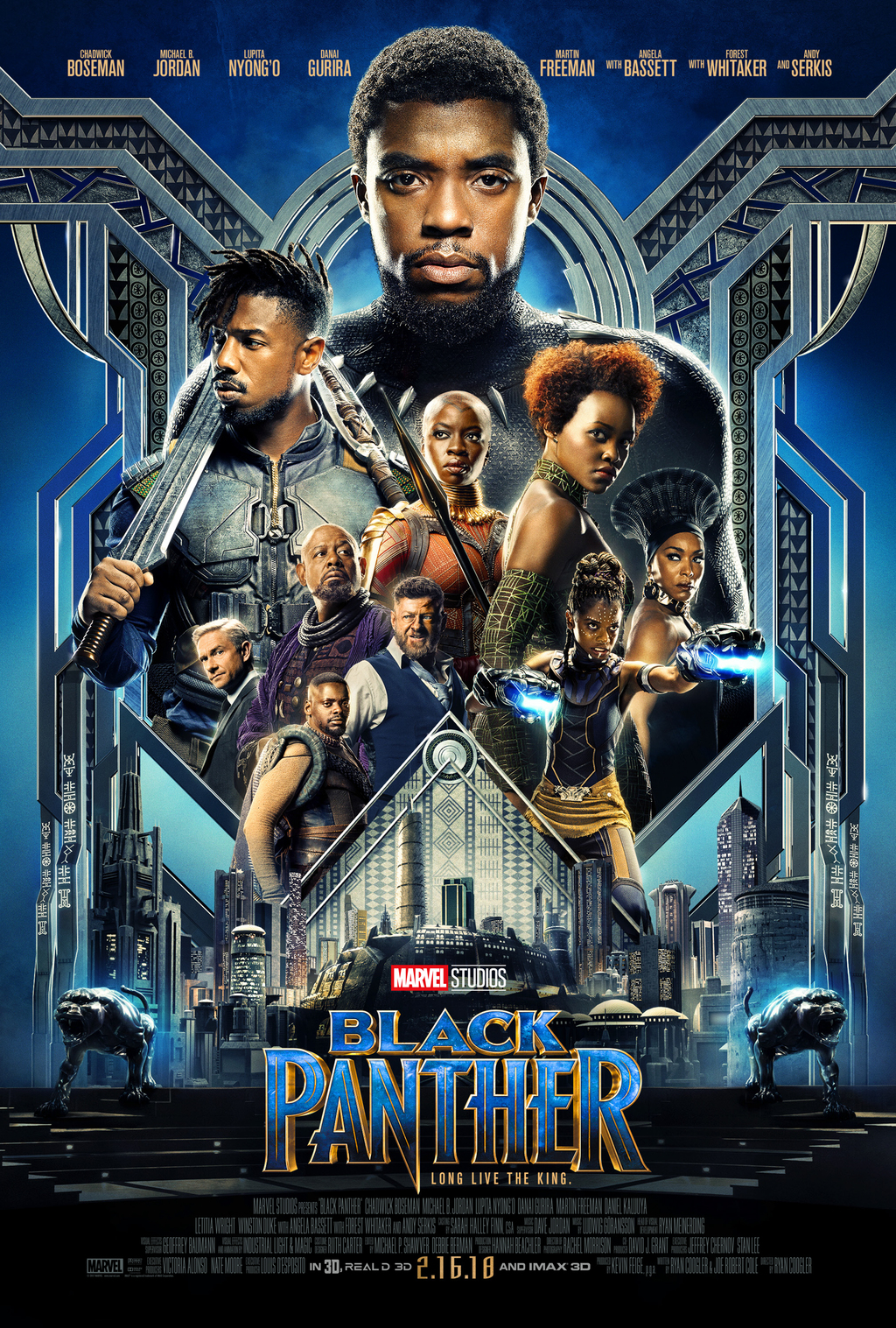 The Cast of Black Panther- What You Need To Know About Them Before Seeing Black Panther
