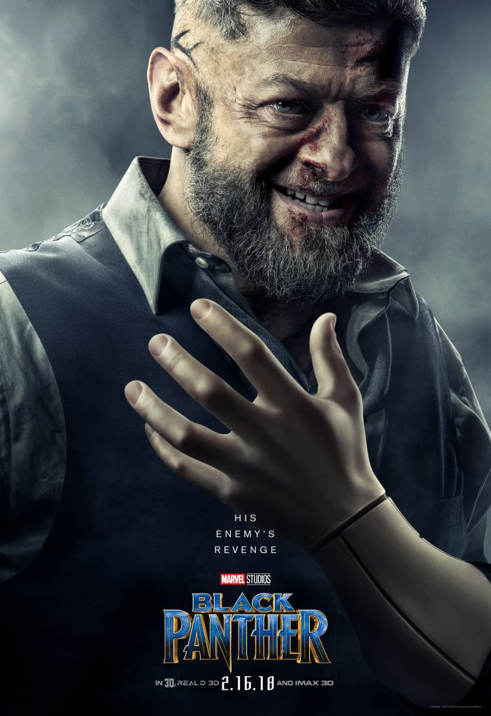 Andy Serkis in Black Panther | Black Panther Poster