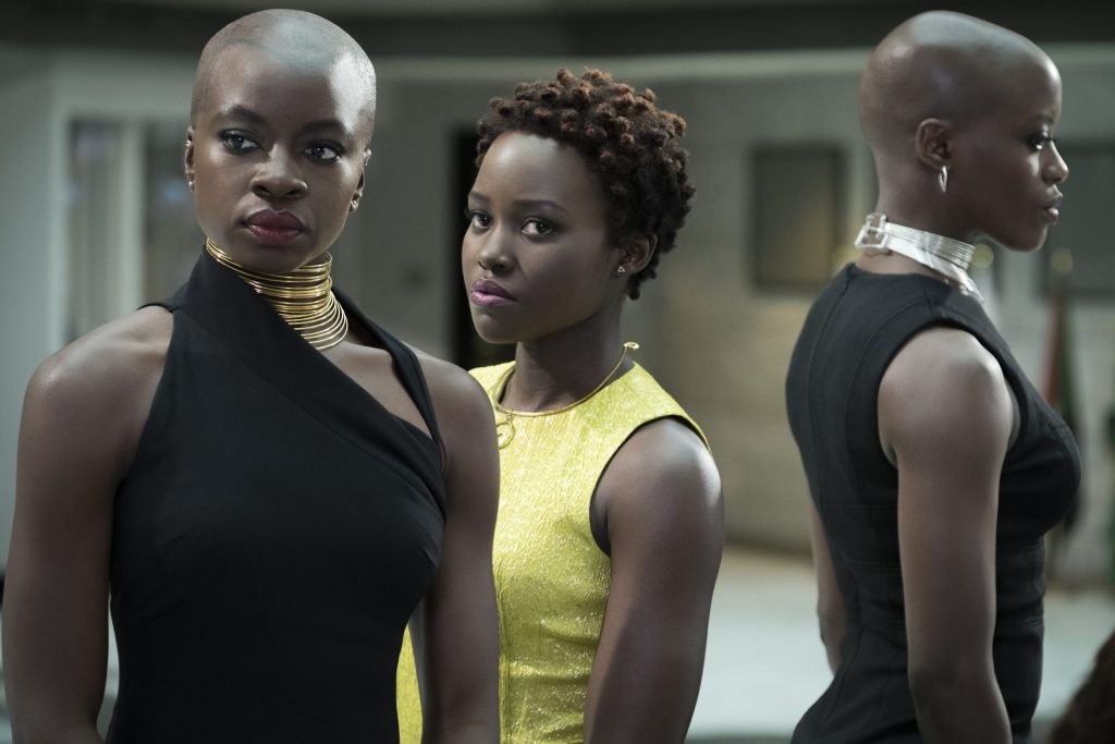 Lupita + Danai Black Representation in Black Panther