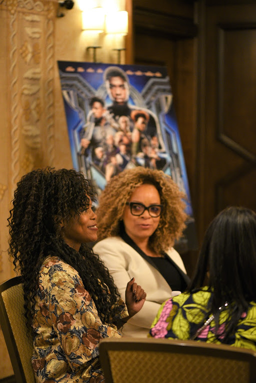 Interview with Hannah Bleacher and Ruth E Carter Black Panther