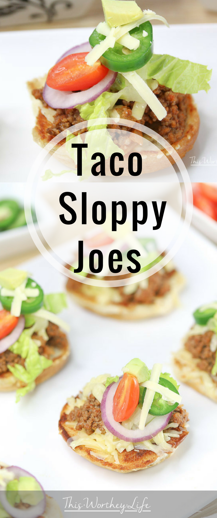 Slider recipes are pretty popular around here. We mixed our regular tacos and sloppy joes' to make Taco Sloppy Joe Sliders. They were a huge hit at our game day party, plus they are easy appetizers to make for any type of party or dinner! Grab the taco sloppy joe sliders recipe on the blog!