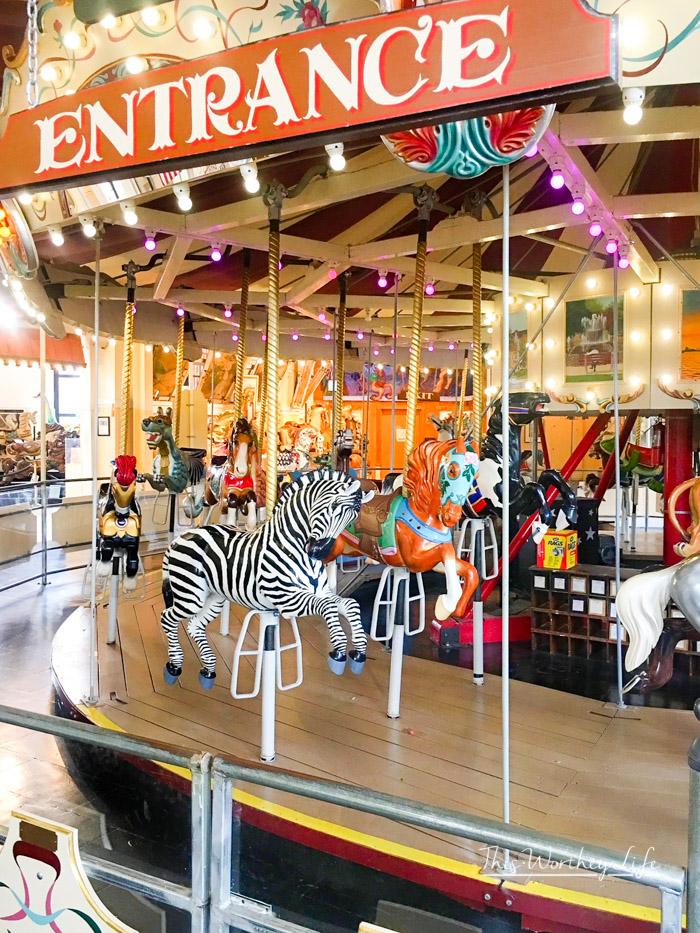 Merry Go Round Museum in Sandusky, Ohio