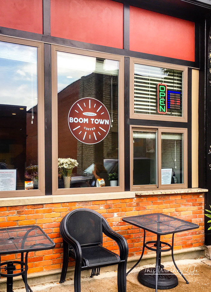 BoomTown Coffee in Sandusky, Ohio