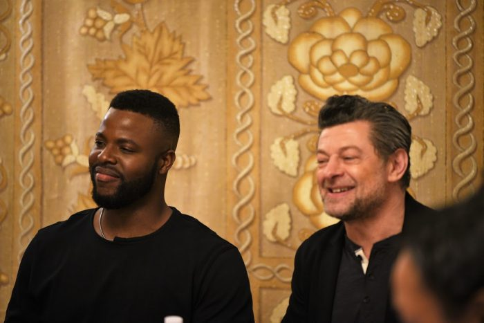 Interview with Winston Duke and Andy Serkis of Black Panther
