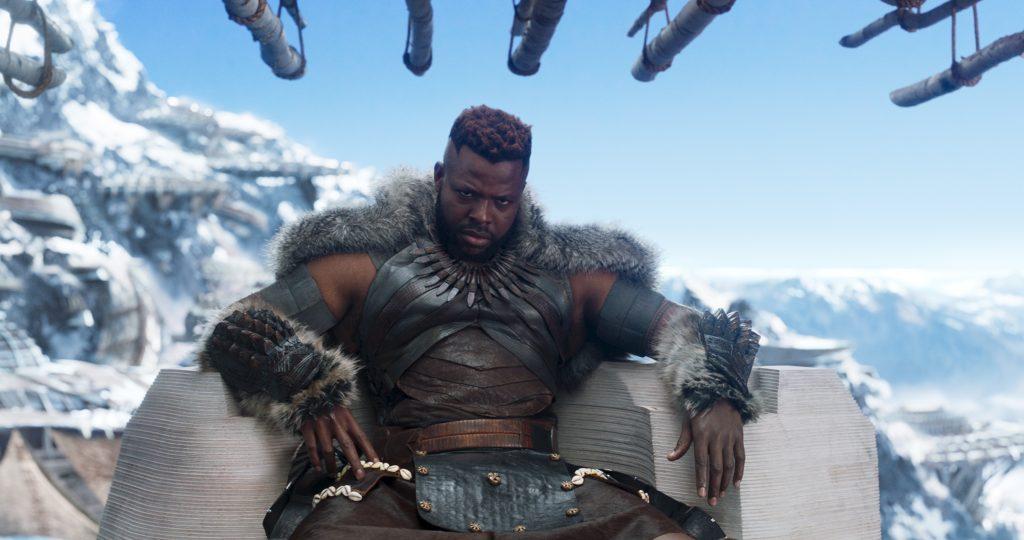 Winston Duke First Film- Marvel's Black Panther