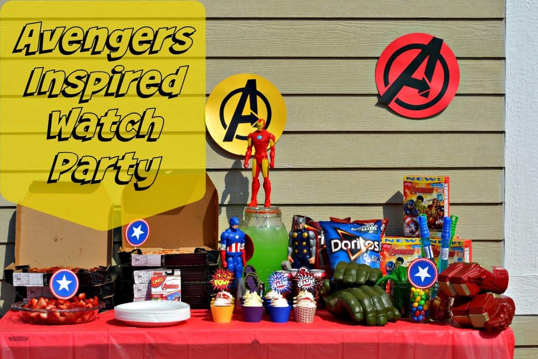 Avenger's Kid Party Ideas