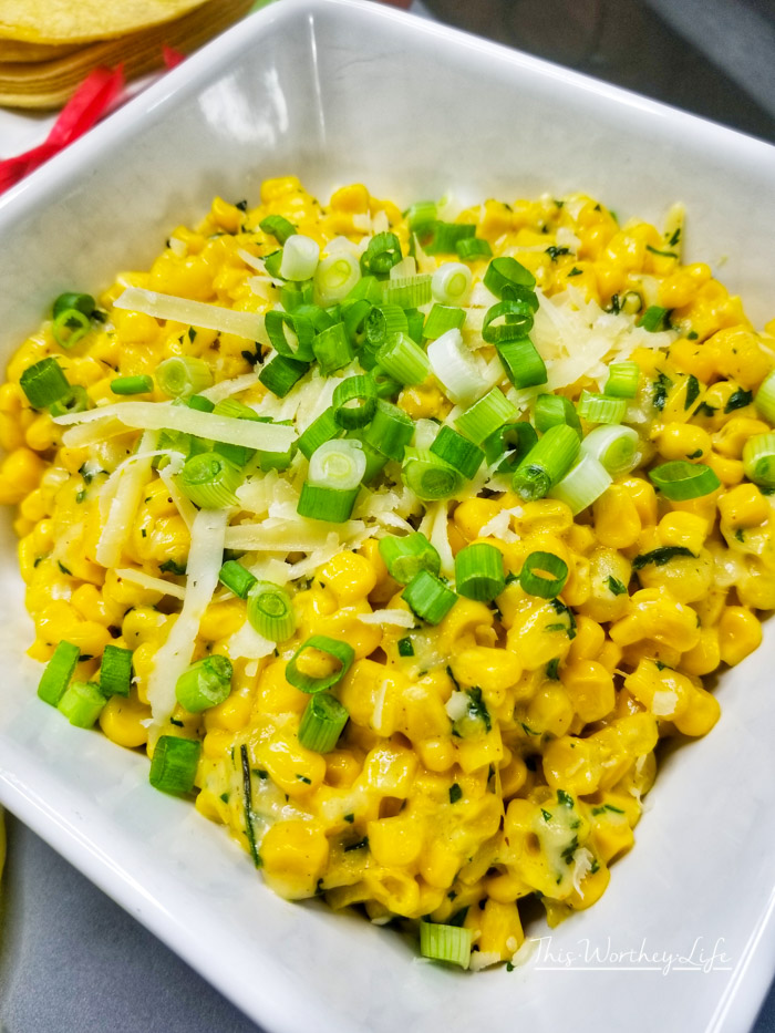 Kick off your Cinco De Mayo party with this Mexican Corn Recipe- Easy recipe for Mexican Corn Off The Cob