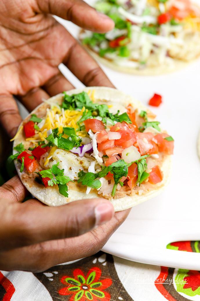 Easy Fish Tacos Using Alaska Pollock