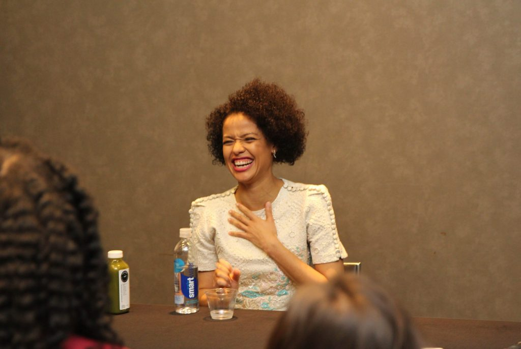 Interview with Gugu Mbatha-Raw as Dr. Kate Murray