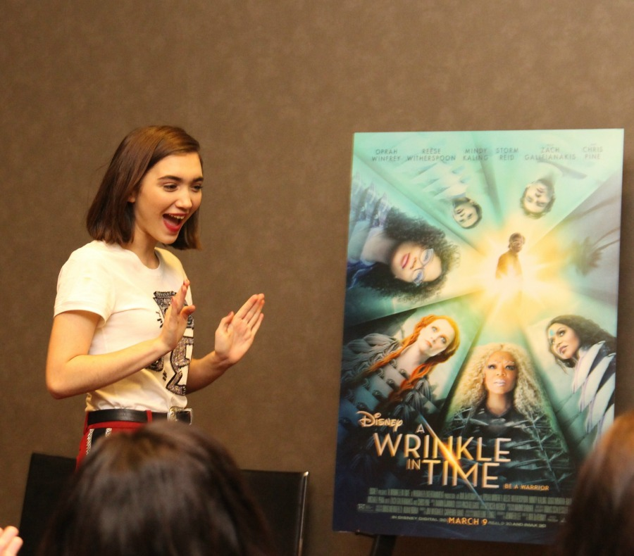 Interviewing Rowan Blanchard Disney Wrinkle In Time