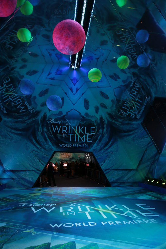 "Disney presents the world premiere of ""A Wrinkle in Time"""