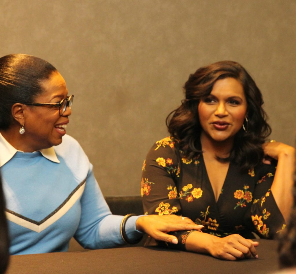 Interviewing Mindy, Reese, and Oprah