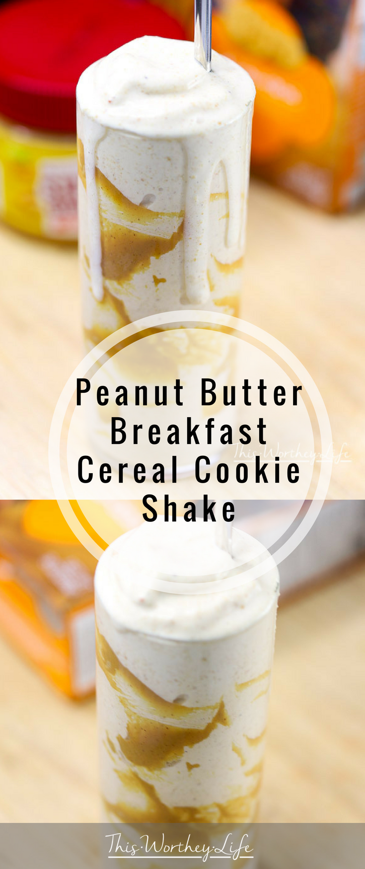 Who says breakfast has to be boring? With some of your favorite ice-cream, Girl Scout Do-si-dos cookies, and cereal, you can have a fun and filling breakfast shake! Try our Peanut Butter Breakfast Cereal Cookie Milkshake- get the recipe on our food blog!