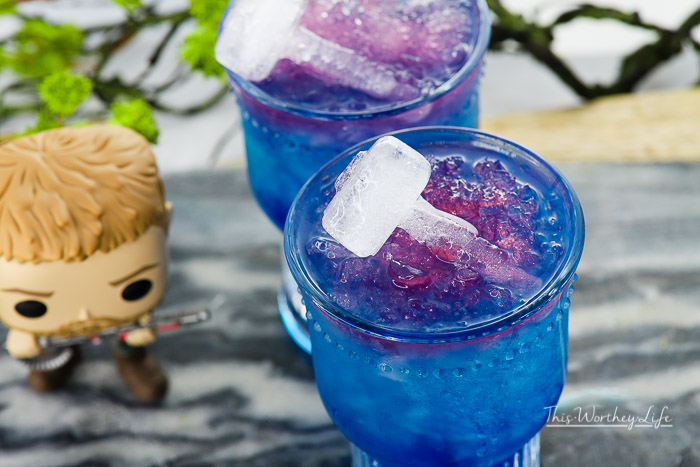 Kid-Friendly Thor Avengers Drink