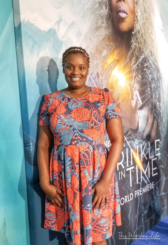 Wrinkle In Time Red Carpet