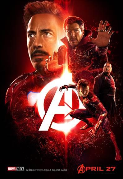 Team Iron Man Avengers Infinity War