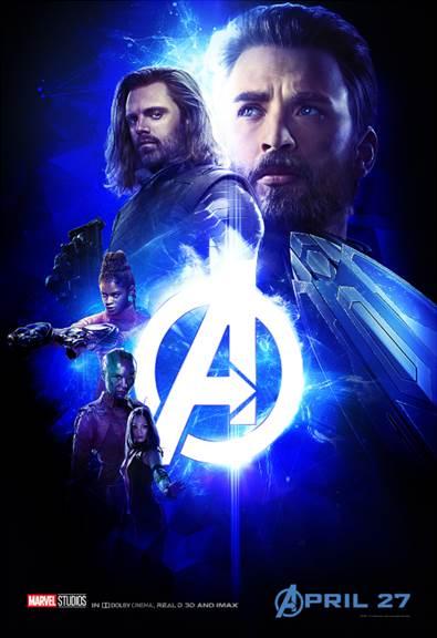Team Cap Avengers Infinity War