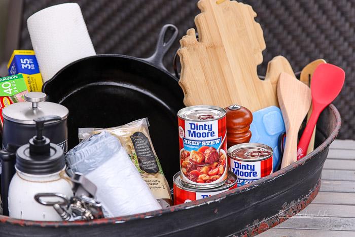 List of basic kitchen essentials