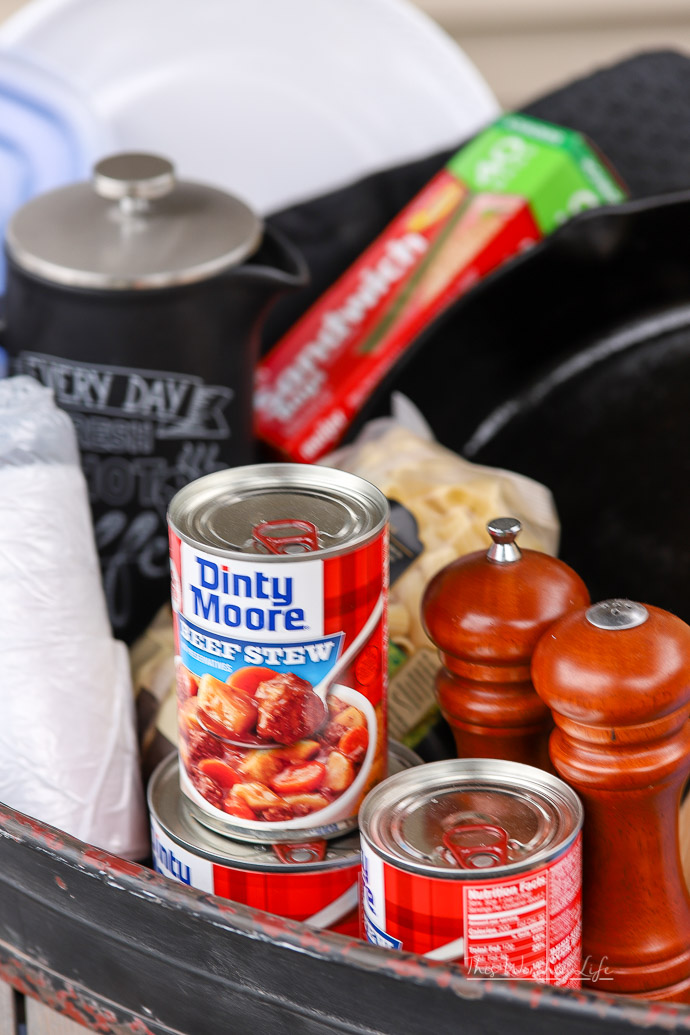 Kitchen Camping Essentials Camping Food List This
