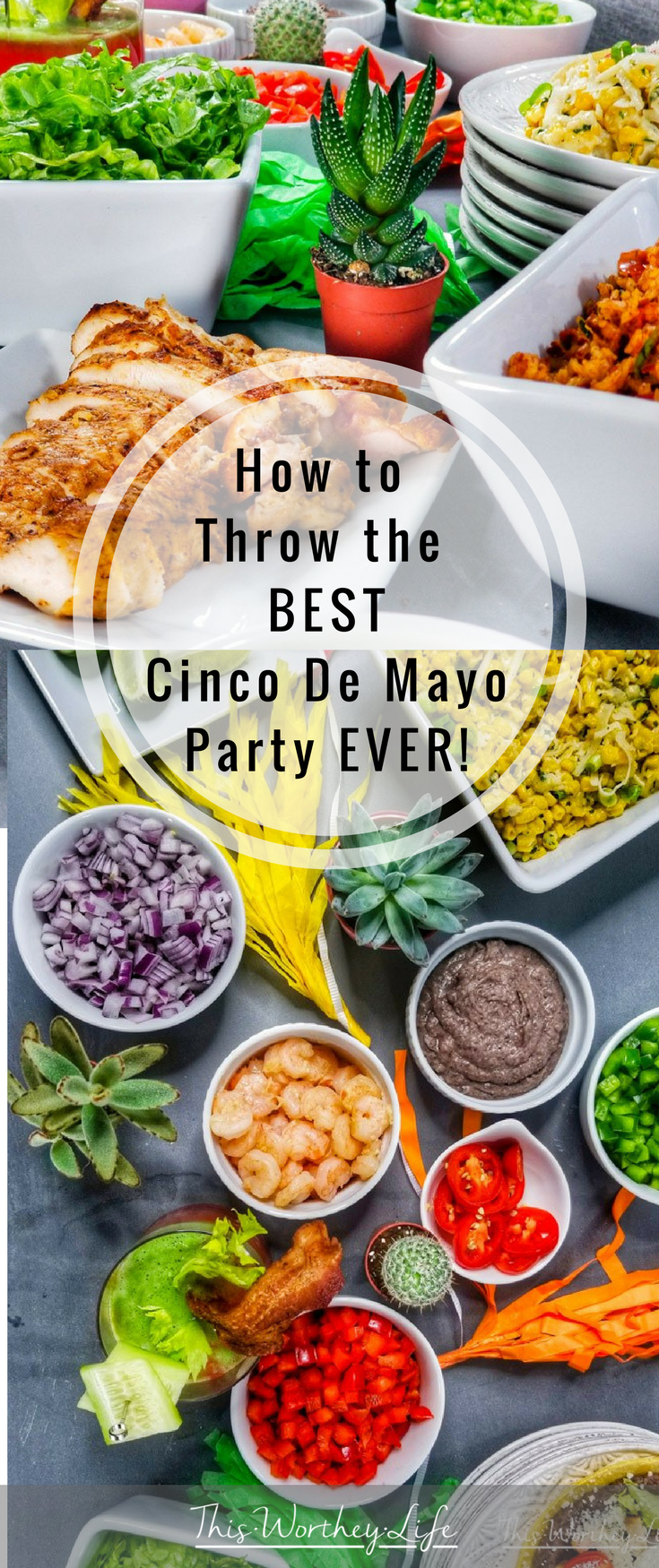 Get ready to celebrate Cinco de Mayo with some of our food ideas. We're sharing tips on how to throw the best Cinco de Mayo party ever, along with three Mexican food ideas and a Mexican cocktail with bourbon.