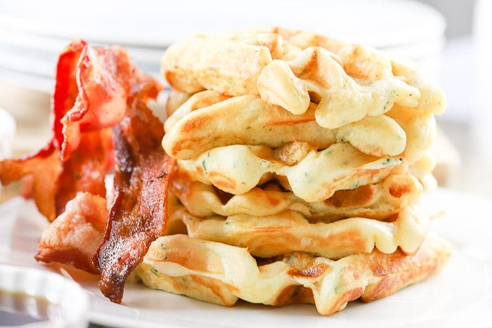 easy buttermilk waffles recipe