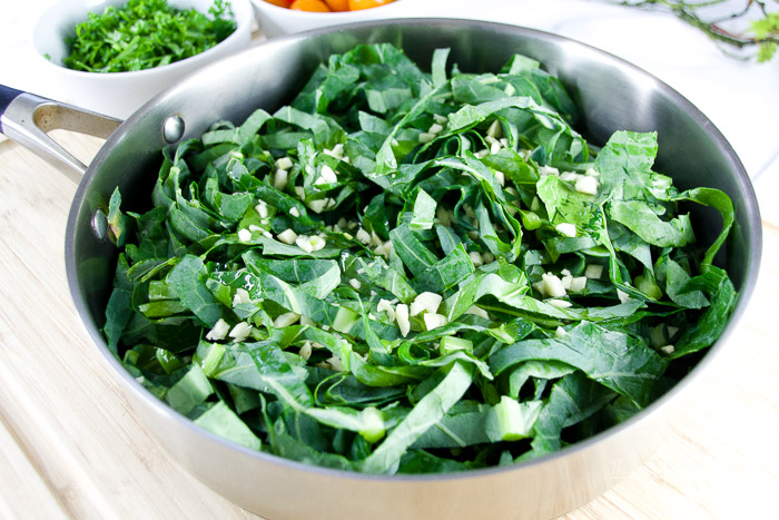 The Best Garlic and Collard Green recipe