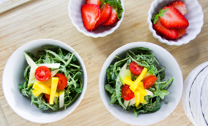The Best Mango Apple Salad
