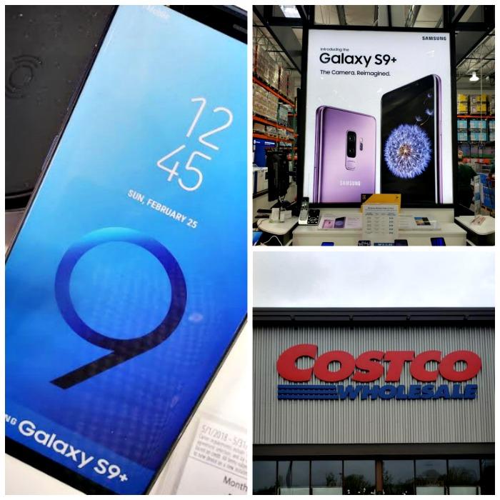 Samsung galaxy s9 at Costco