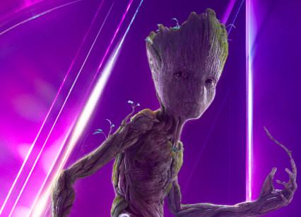 Teen Groot Avengers Infinity War