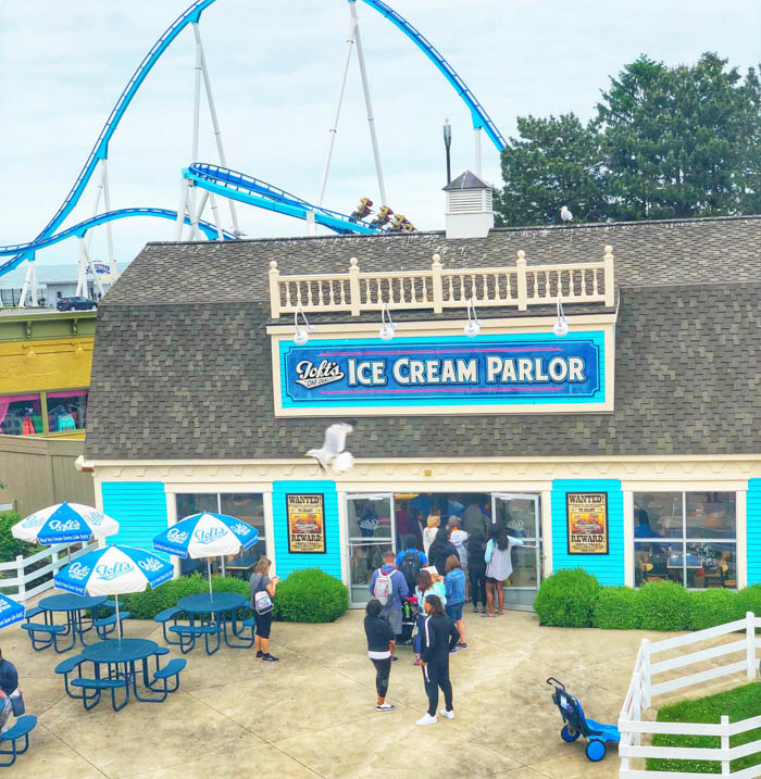 Toft's Dairy at Cedar Point