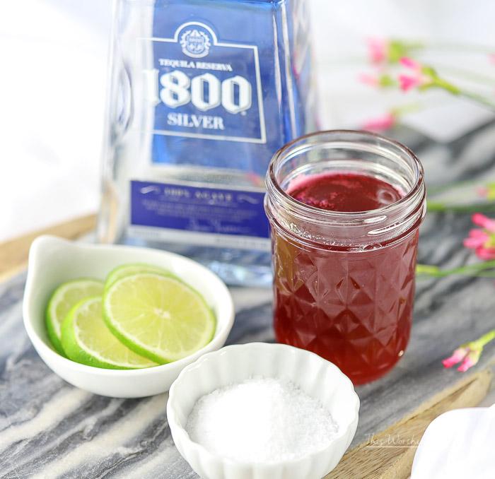 Summer Cocktail: Cherry + Rhubarb Margarita