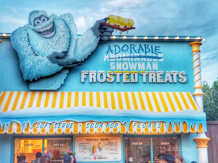 Best Pixar Fest Food to try