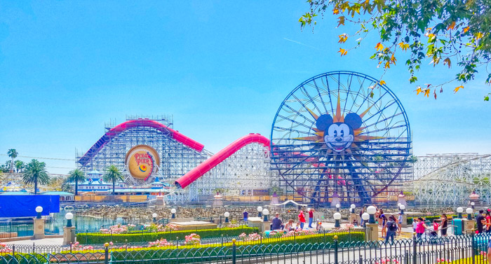 Pixar Pier California Adventure Park