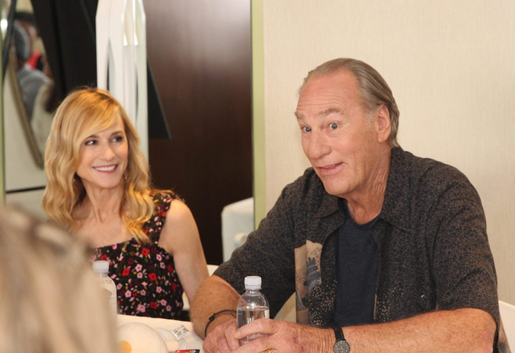 """During our Incredibles2 event last week in Los Angeles, myself and 24 bloggers had the opportunity to screen the movie (review coming soon), as well as interview many members of the Incredibles2 cast. Our first interview of the press junket was withCraig T. Nelson(voice of """"Bob Parr / Mr. Incredible"""") &Holly Hunter(""""Helen Parr / Elastigirl"""")."""