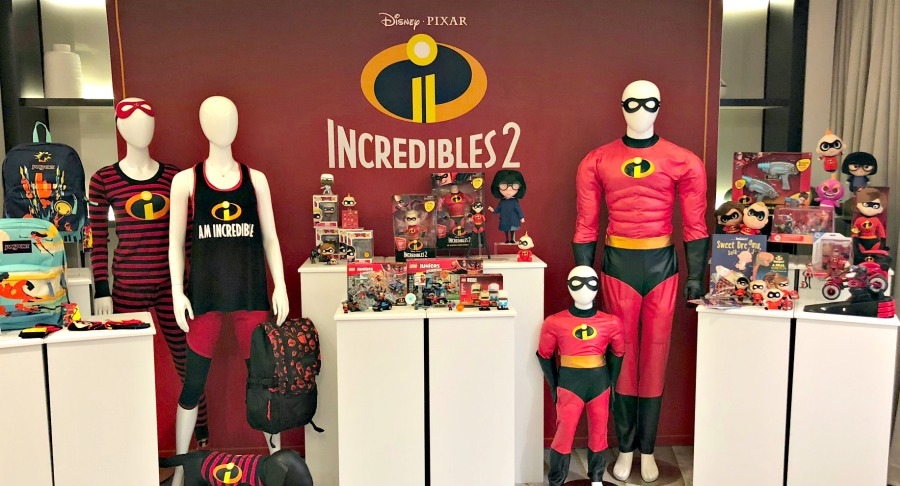 Incredibles 2 products