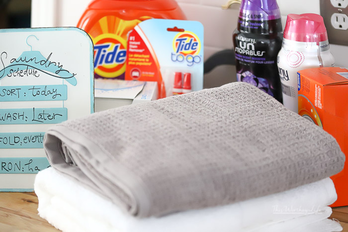 Amazon Prime benefits on Laundry Care items
