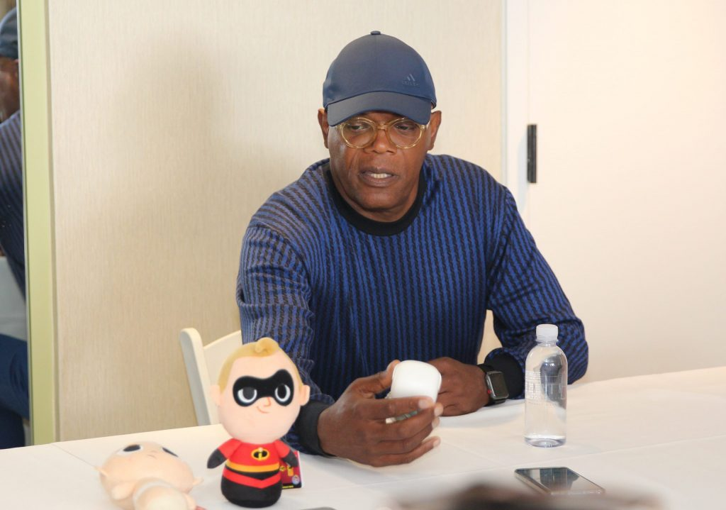 Samuel L Jackson Interview on Incredibles 2 movie