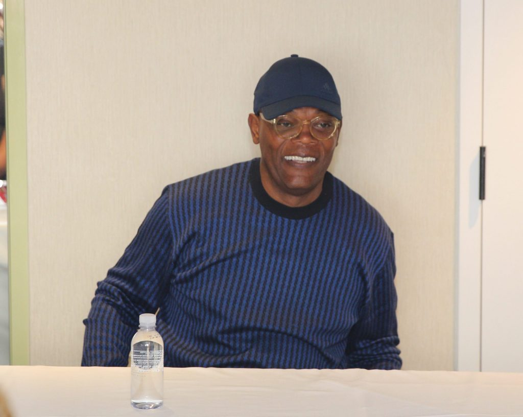 Keeping it real with Samuel L Jackson